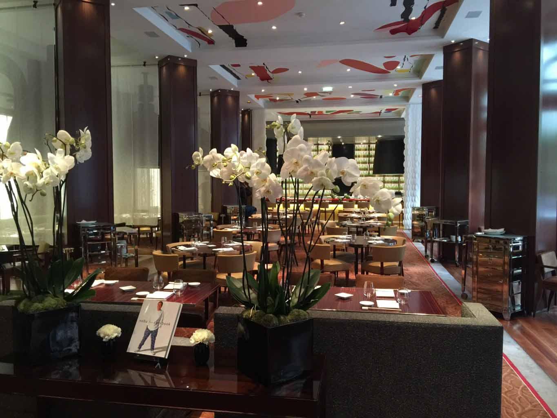 Nobu restaurant royal monceau paris hipret group for Restaurant la cuisine royal monceau